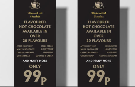 Jaccs Coffee roller banner
